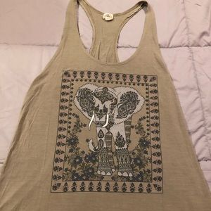 Great ONeill elephant tank! Size M washed not worn